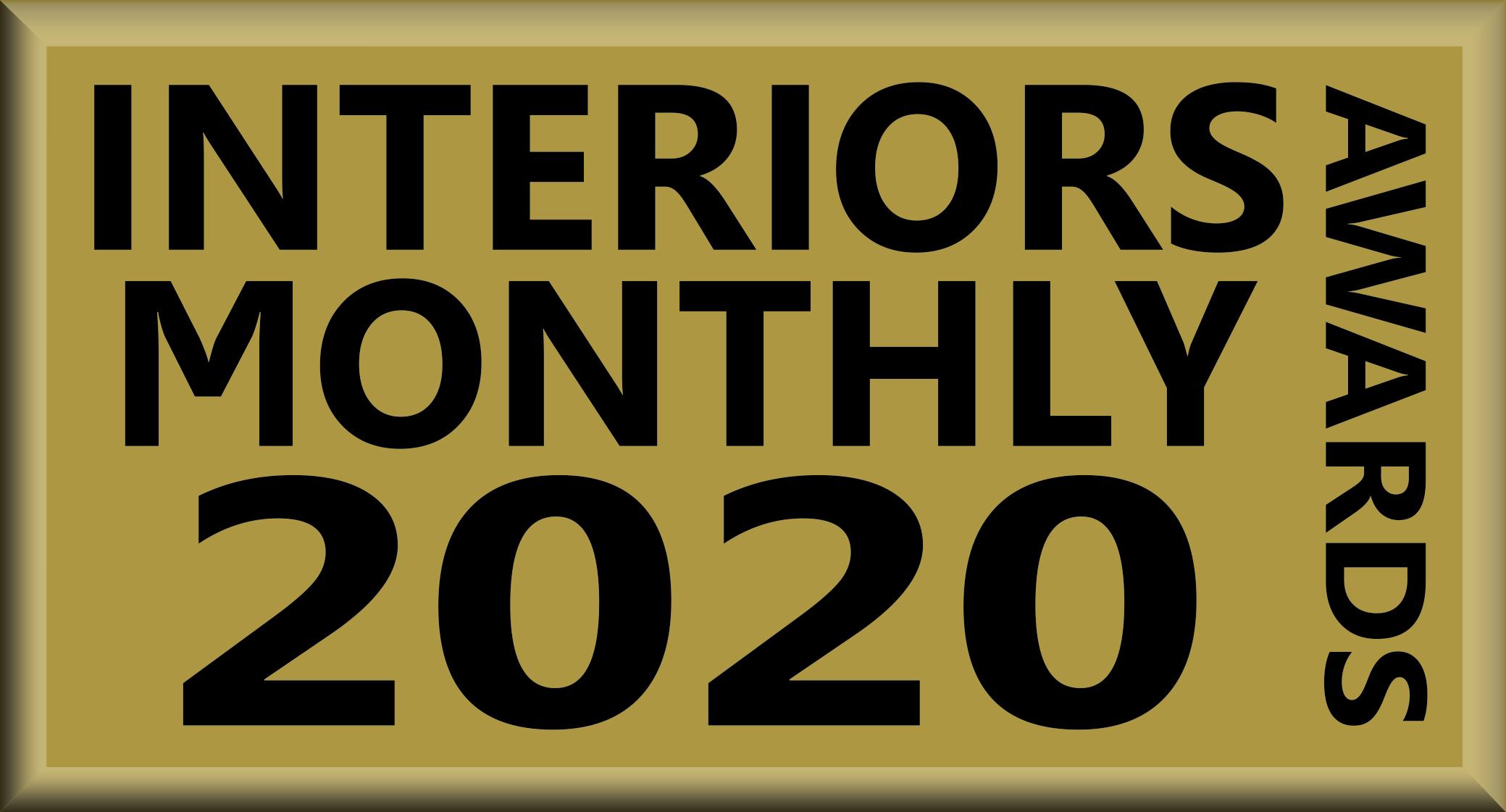 Interiors Monthly award